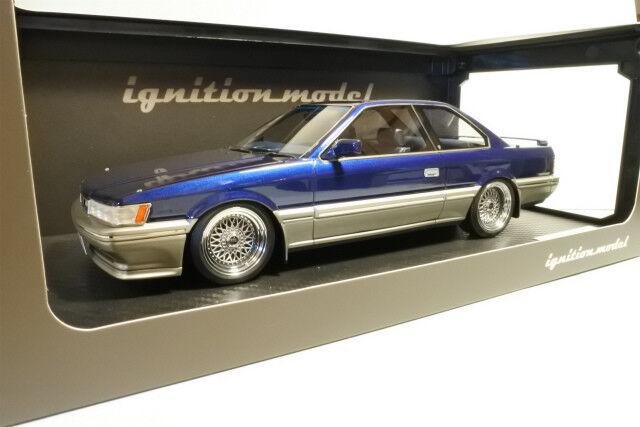 1/18 IG ignition  IG1014 Nissan Leopard 3.0 Ultima  F31  blu