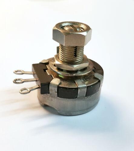 350K ohm CLAROSTAT 380C-2  Locking Potentiometer 2 watt Single turn Linear
