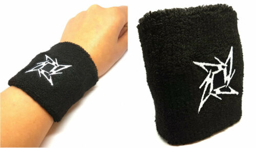 Pair of Terry Cotton Sport Tennis Yoga sweating Bracelet Hand Accessory