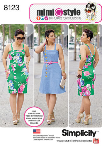 Mimi G Style For Simplicity Sewing Pattern Misses Summer Outfits New You Pick