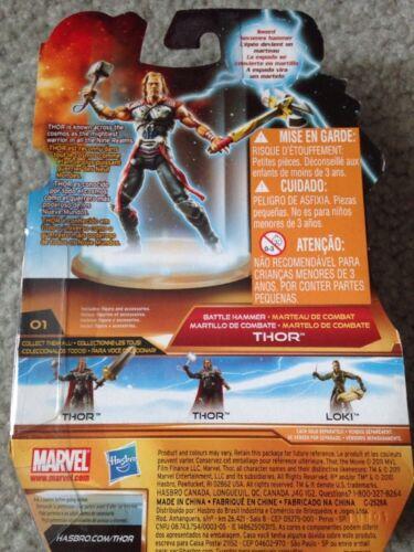 Hasbro Marvel Studio Thor The Mighty Avenger # 01 Battle Hammer Thor