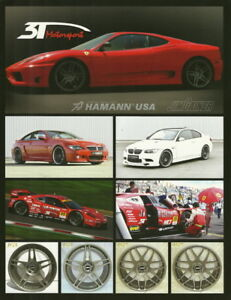 "Sports Mem, Cards & Fan Shop 2009 3t Motorsport ""2nd Issued"" Ferrari Sema Show Promo Thinstock Handout"