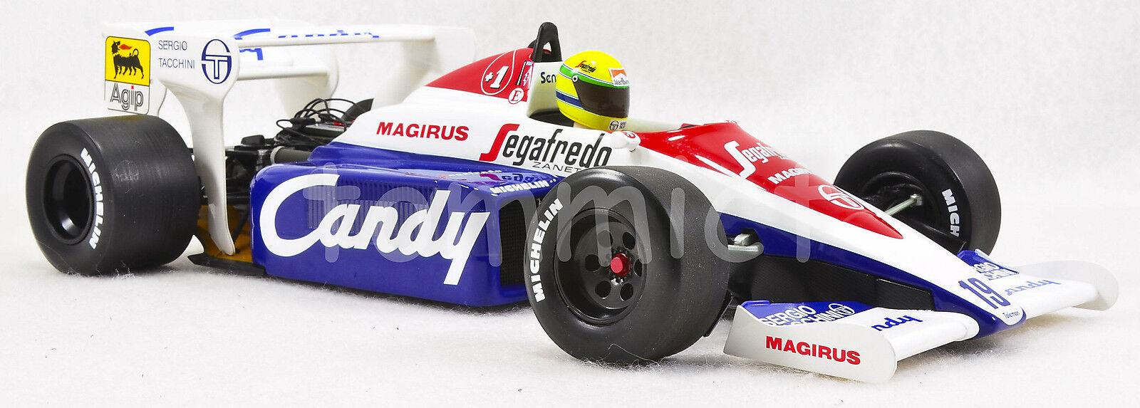1/18 Ayrton Senna 1984 Toleman Hart TG184 FULL LIVERY n