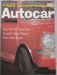 Autocar-magazine-13-November-1969-featuring-Mini-1275-GT-road-test