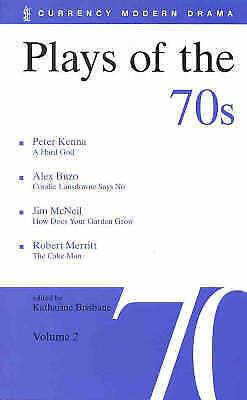 1 of 1 - PLAYS OF THE 70'S - Volume 2, Kenna, Buzo, McNeil, Merritt (PB 1999) LIKE NEW!