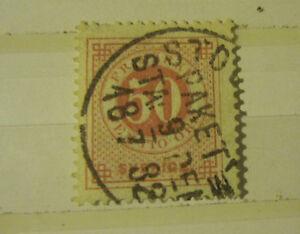 Sweden stamp #26 used F/VF