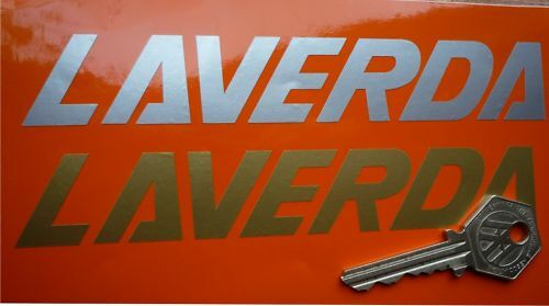 LAVERDA Script motorcycle stickers Jota CL SFC RGS etc