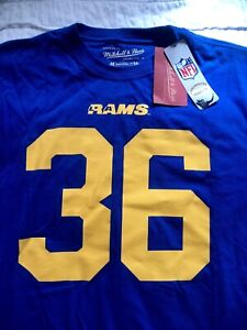 8c80885a Details about JEROME BETTIS Los Angeles RAMS Mitchell & Ness Throwbacks  Jersey Size XL