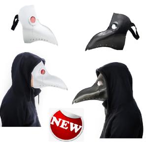 Plague Doctor Mask Long Nose Beak Cosplay Steampunk Halloween Costume Props Bird