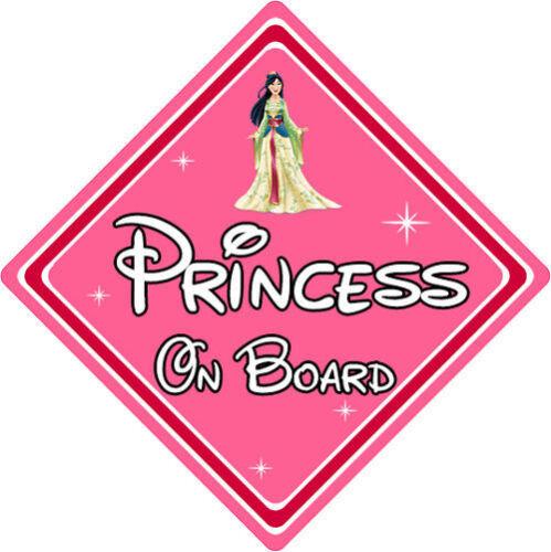 Disney Princesse À Bord Voiture Signe-Bébé À Bord Voiture Signe-Mulan