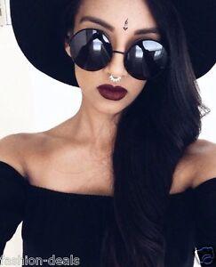 OVERSIZED-Vintage-Retro-Boho-Bohemian-Hippie-Round-Circle-Women-Sunglasses-SHADZ