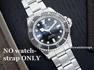 Image Is Loading Stainless Steel Oyster Bracelet Strap For Vintage Rolex