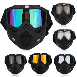 Image is loading Winter-Snow-Sports-Ski-Snowboard-Face-Mask-Detachable- b22a326d8