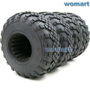4pc-RC-1-9-Crawler-Truck-Tires-108mm-For-RC-4WD-Axial-1-9-Beadlock-alloy-Rims