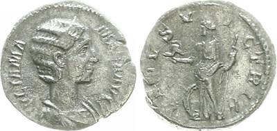L Elegant Appearance Plata 235 Antiguo/romanos Época Imperial Julia Mamaea Trasera Venus N Learned Dinar