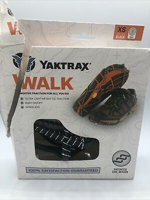 New. Yaktrax Walk Black Extra small