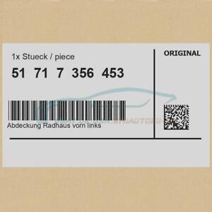 Original-BMW-51717356453-Abdeckung-Radhaus-vorn-links