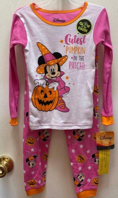 Disney Minnie Mouse Toddler Girls Pink Pajamas 4 toddler sleepwear 2 piece NWT