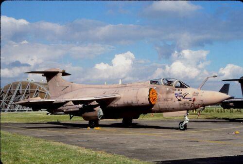 XX885//L of 208 Sqdn Royal Air Force Original colour slide Buccaneer S.2B spcl