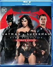 Batman v Superman: Dawn of Justice (Blu-ray Disc, 2016, 3-Disc Set, Ultimate Edition)