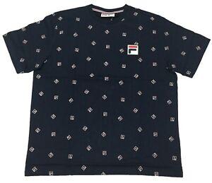 Fila-Peacoat-Reign-T-Shirt
