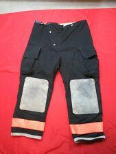 42 X 30 1990s Globe Firefighter Fire Pants Bunker Turnout Gear Vtg