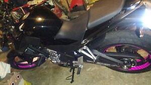 CUSTOM MOTORCYCLE INNER RIM DECALS WHEEL STICKERS STRIPES RACING - Custom motorcycle stickers racing