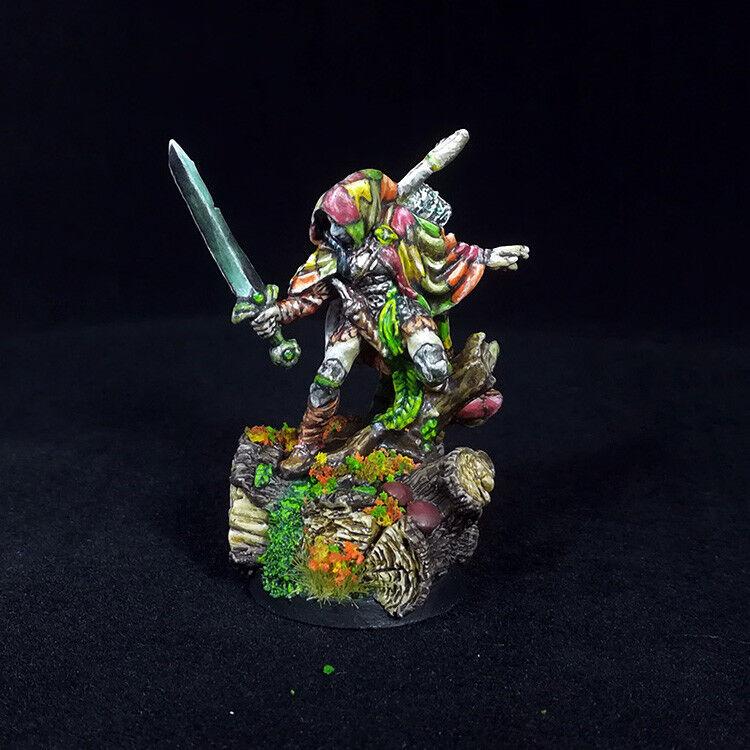 Pro Painted Nienna Female Elf Ranger Reaper Fantasy RPG D&D Pathfinder miniature