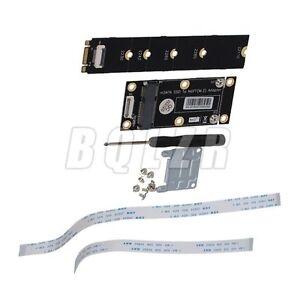 BQLZR-mSATA-da-SSD-a-M-2-NGFF-Adattatore-con-FFC-Cavo-Nero