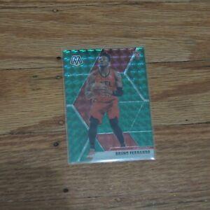 2019-20 Bruno Fernando Rookie Card Panini Mosaic Green Prizm Holo Atlanta Hawks