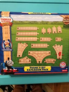 Details About New Fisher Price Thomas Friends Wooden Railway Figure 8 Set Expansion Pack