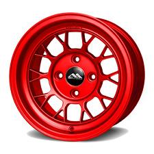 ABR DRAG RACING WHEELS 13X8 FOR HONDA CIVIC CRX ACURA INTEGRA MAZDA MIATA RED