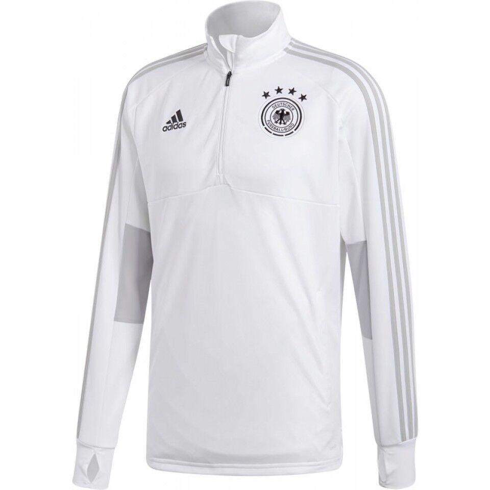 Adidas DFB Deutschland Zip Training Top - Farbe Weiss - Gr. M 17 18
