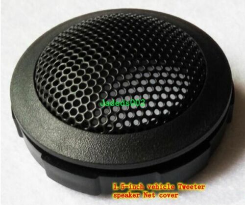 """2pcs 1.5/""""inch Car Tweeter Decorative circle speaker grille protection net cover"""