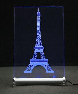 Tour eiffel paris-LED. enseigne lumineuse-la tour Eiffel-poison present Cadeau-afficher le titre d`origine