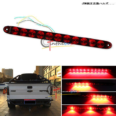Multi-Function Truck Tailgate Red LED Running Light Bar (Tail Brake Turn Signal)