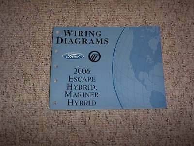 2006 Ford Escape Hybrid Electrical Wiring Diagram Manual 2 ...