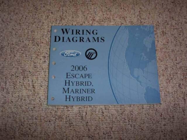 2006 Ford Escape Hybrid Electrical Wiring Diagram Manual 2