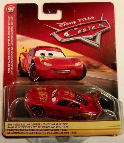 Disney Pixar Cars 3 Lightning Mcqueen Rust-Eze Racing Center 2018 95 RRC Theme