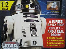 STAR WARS R2-D2 DROID!.MODEL KIT ISSUE 1,1:2 SCALE.WORKING APP-CONTROLLED.LED