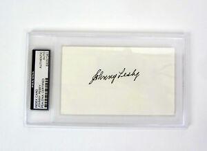 Johnny-Pesky-Boston-Red-Sox-Signed-Autograph-Index-Card-PSA-DNA-Slabbed-COA