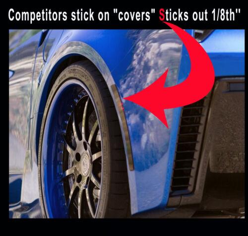 C7 Corvette SMOKED REAR Side Bumper Markers 2 PIECE Blackout KIT