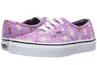 Vans Mens 8.5 Womens 10 Authentic Pool Vibes African Violet Purple Dog Shoes