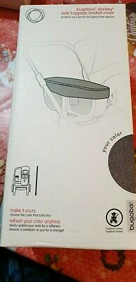 Bugaboo Donkey2 Base Carrycot Bassinet Fabric Cover Grey Melange BNIB RRP £130