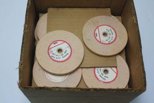 """Radiac 9A1201-M8-V25 4/"""" x 5//16/"""" x 3//8/""""  6207 Rpm Grinding Wheel New"""