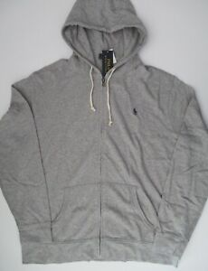 Mens Long Sleeve Basic Cotton Zip-Up Zipper Hooded Hoodie Jacket Sweatshirt S2XL
