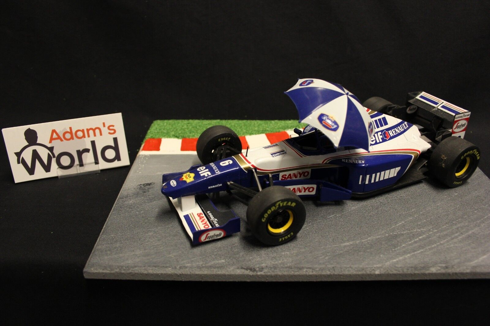 Onyx Williams Renault FW17 1995 1:18  6 David Coulthard  GBR   F1NB