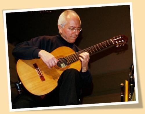 JOHN WILLIAMS color #2 PRINT MATTE POSTER SIZE CLASSICAL GUITARRIST GUITAR MUSIC
