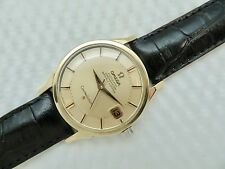 "1966 OMEGA CONSTELLATION SOLID GOLD CAPPED ""PIE PAN DIAL"" 168.005 - cal. 561"