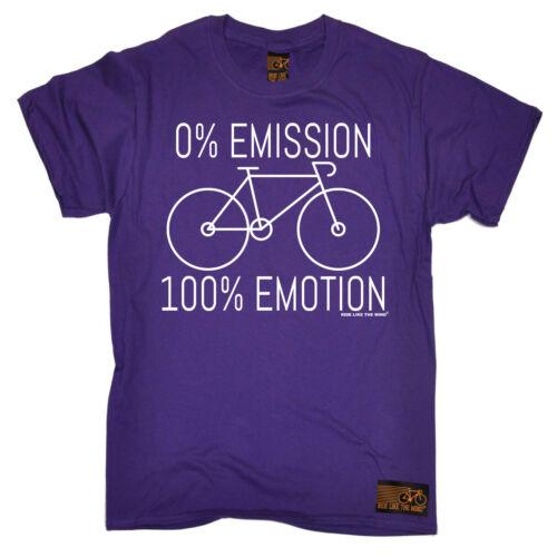 CICLISMO 0 al 100 emozione BICICLETTA CICLO Divertente Compleanno T Shirt T-shirt